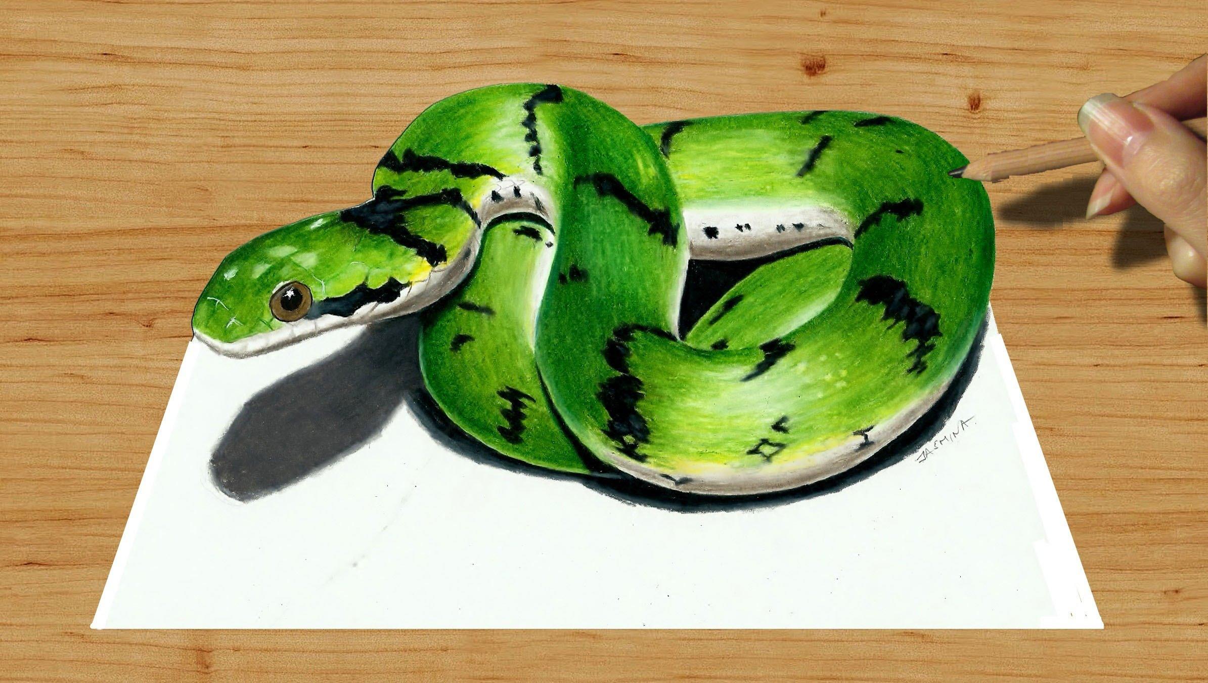 Drawn 3d art cute Draw Cute Susak Colored Drawing: