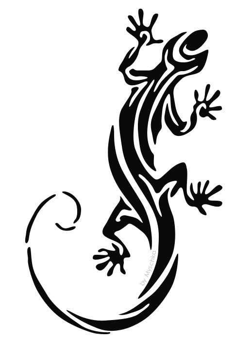 Drawn reptile tribal By tatoos on 25+ tribal