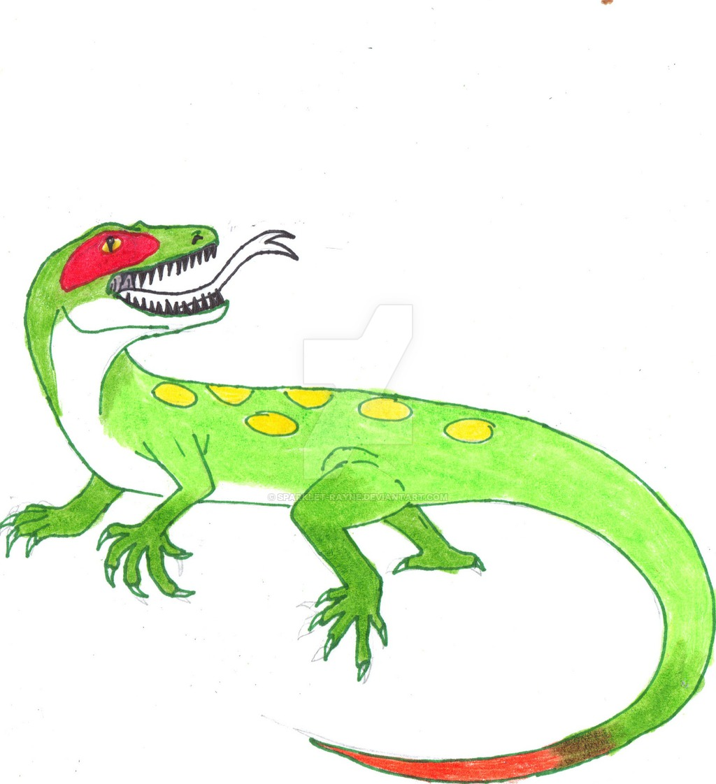 Drawn reptile yellow spotted Yellow  Yellow Spotted by