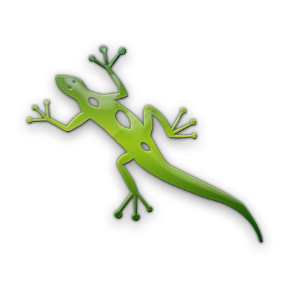 Drawn reptile yellow spotted (Lizards) Spotted Lizard (Lizards) »