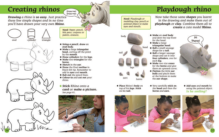 Drawn rhino african rhino But Culture literacy partnered your
