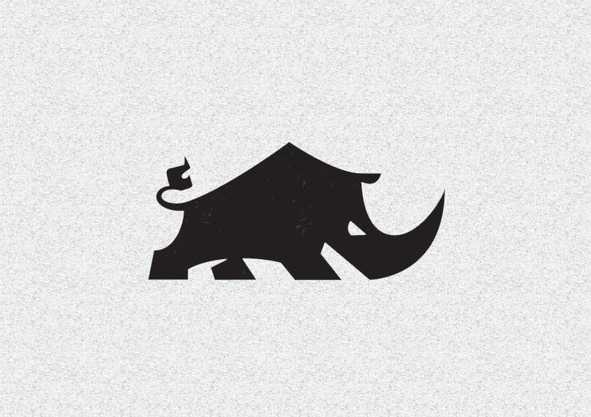 Drawn rhino aggressive Design Trends Aggressive Rhinoceros 33+