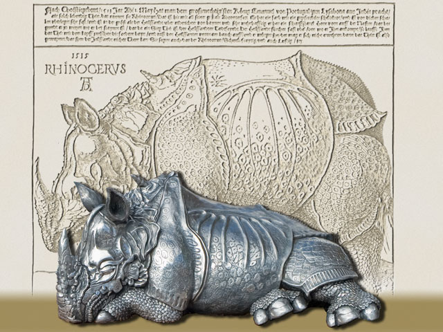 Drawn rhino albrecht durer Commonly exerted Dürer's woodcut: animal
