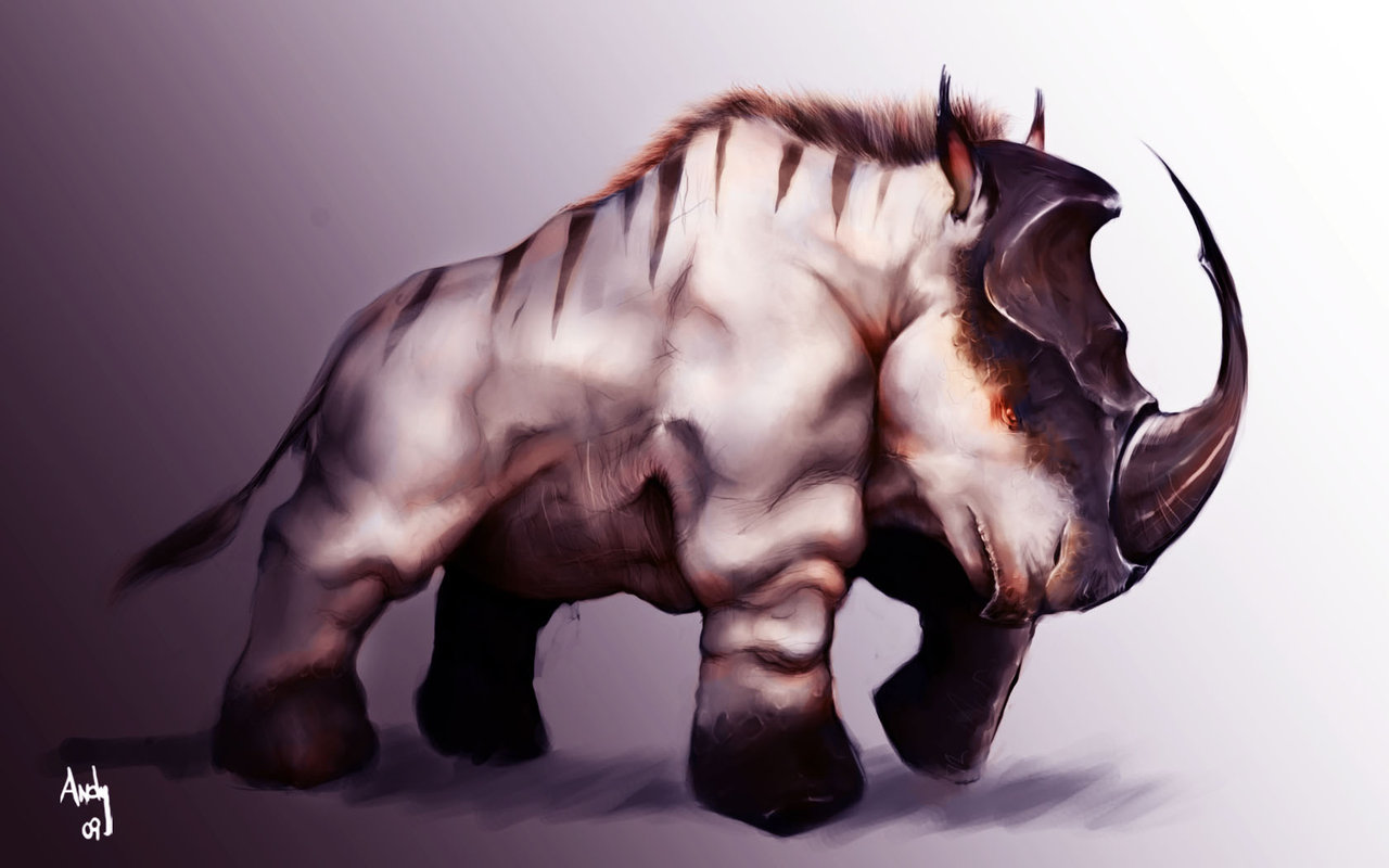 Drawn rhino anime Rocksteady Forums confirmed The for