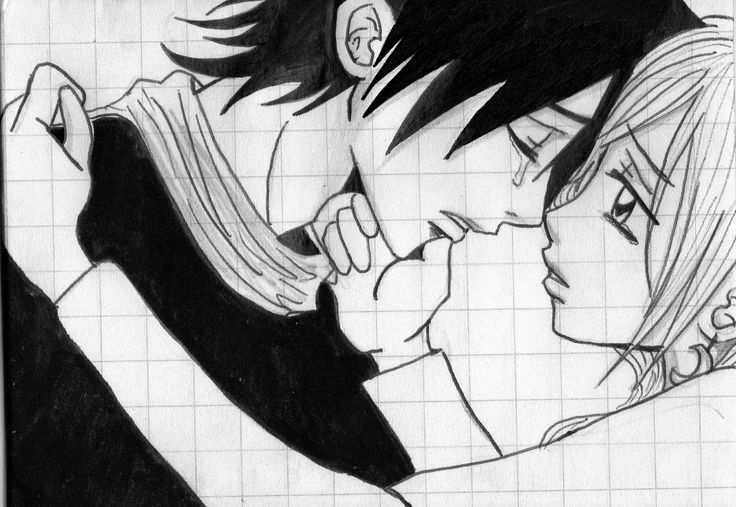 Drawn rhino anime Sketch Couple  Images Drawings