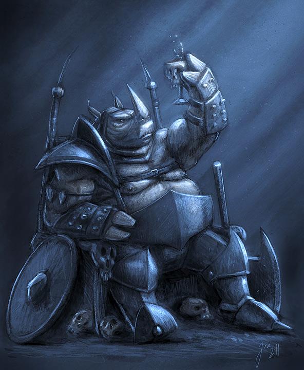Drawn rhino armored Rhino on Armored Rhino Sketch