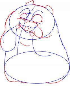 Drawn rhino bolt Rhino bolt draw draw the