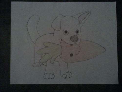 Drawn rhino bolt Bolt Drawing Disney's Puppy images