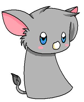 Drawn rhino chibi Rhino by rabbitgirl316 Quickie :3