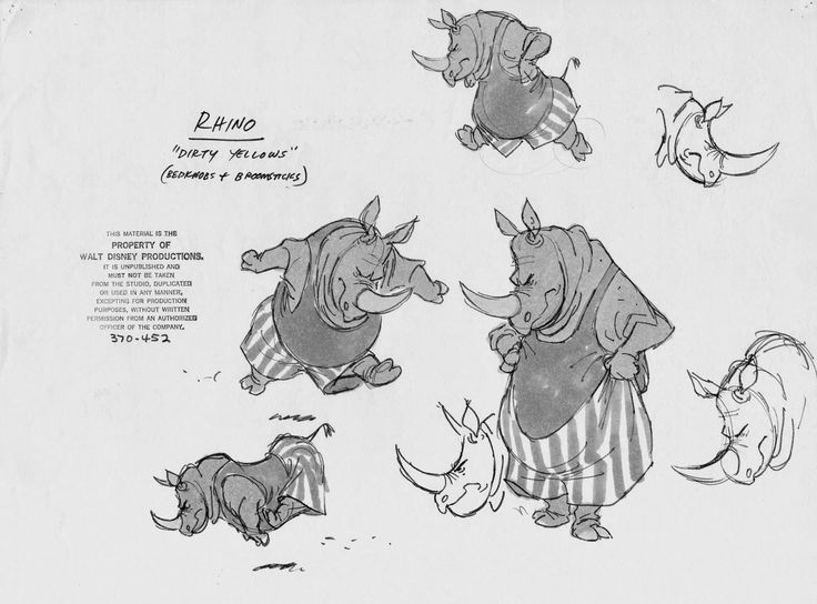 Drawn rhino disney Project Kilamanjaro and #Disney rhino