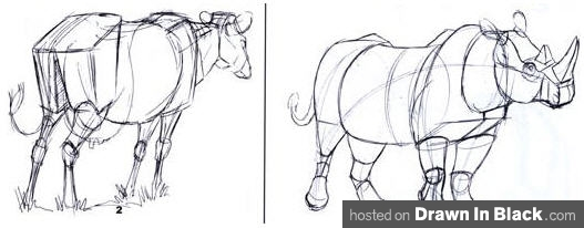 Drawn rhino draw a Weatherly How Joe Rhino Cow