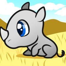 Drawn rhino easy For a skunk to draw