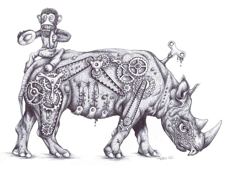 Drawn rhino famous Taeoalii 104 mechanics