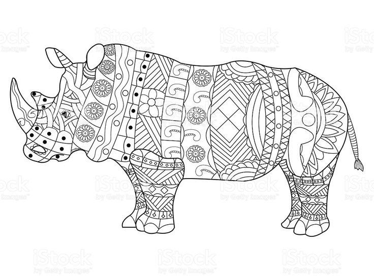 Drawn rhino hippo Best 106 on rhino about