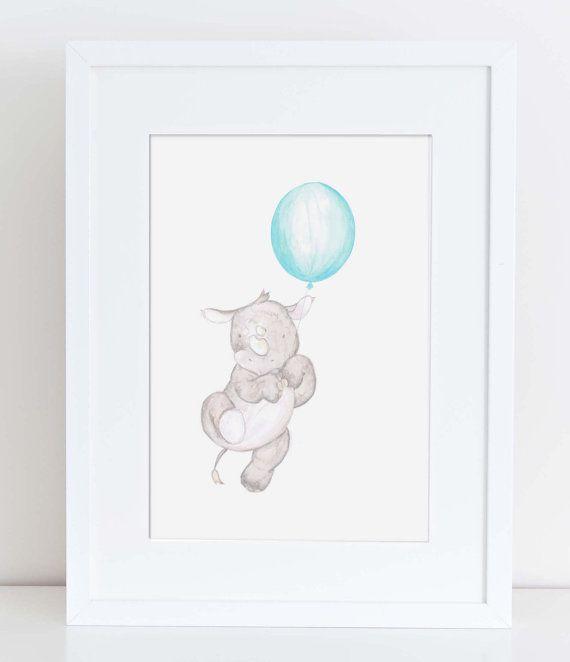 Drawn rhino little kid Gift Baby Best cute and