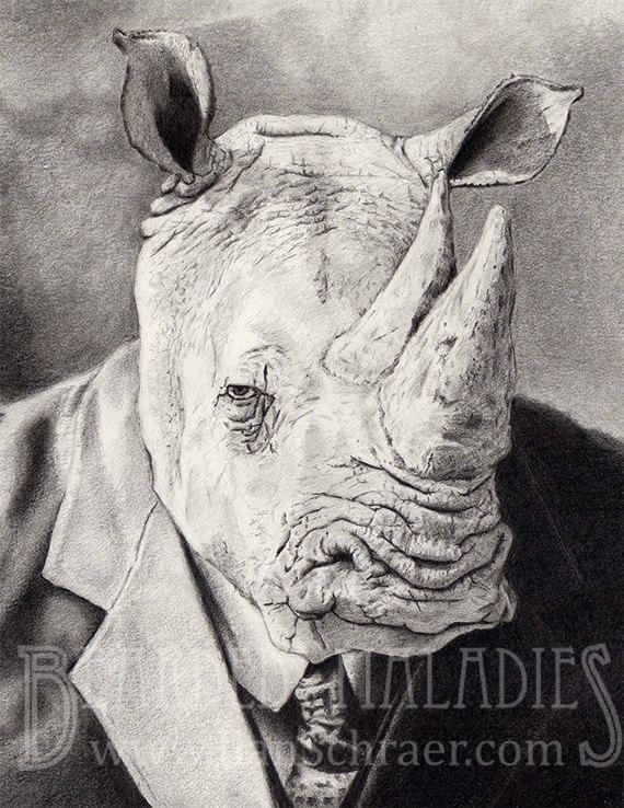Drawn rhino mean Drawing Google best Rhino 19