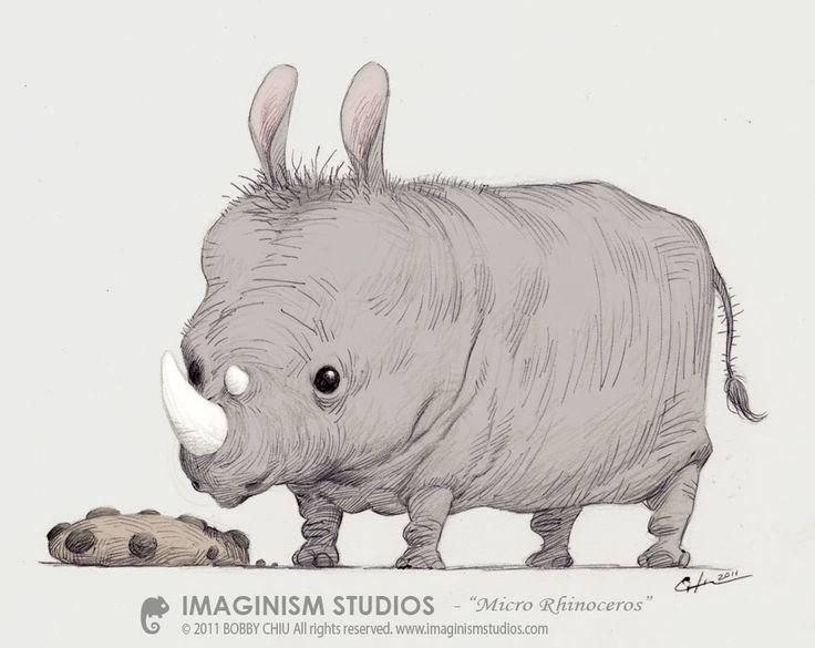 Drawn rhino medieval animal Rhino save Micro deviantart the