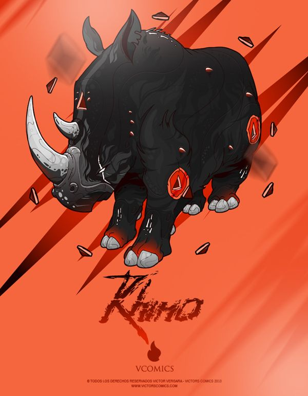 Drawn rhino monster Pinterest best & Inspiration images