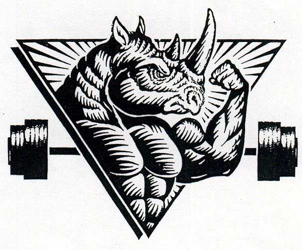 Drawn rhino muscular Maxx B&K Gear  Iron