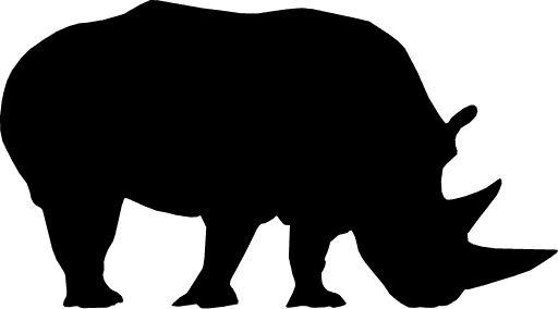 Drawn rhino simple Download Draw 5 Image or