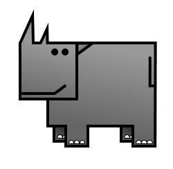 Drawn rhino simple Rhino How to rhino a
