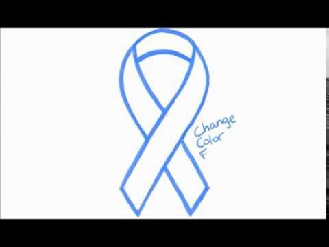 Drawn ribbon cancer Cause to Cause or YouTube
