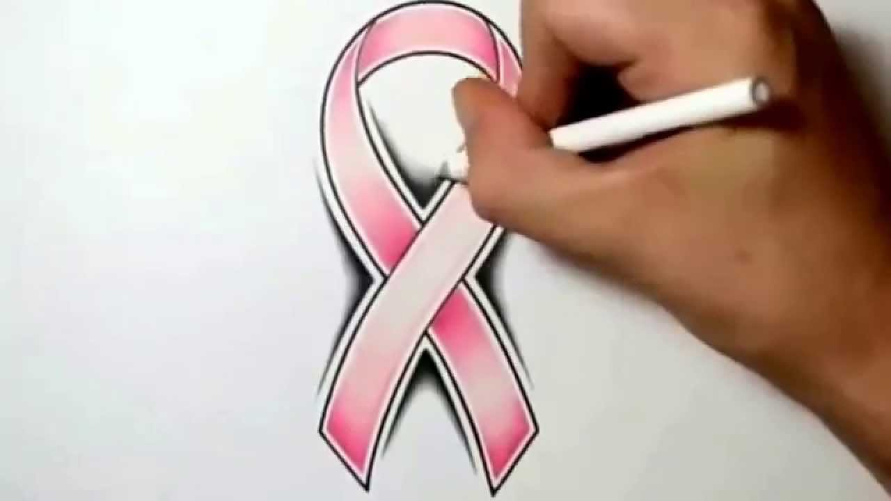 Drawn ribbon cancer Cancer YouTube a to How