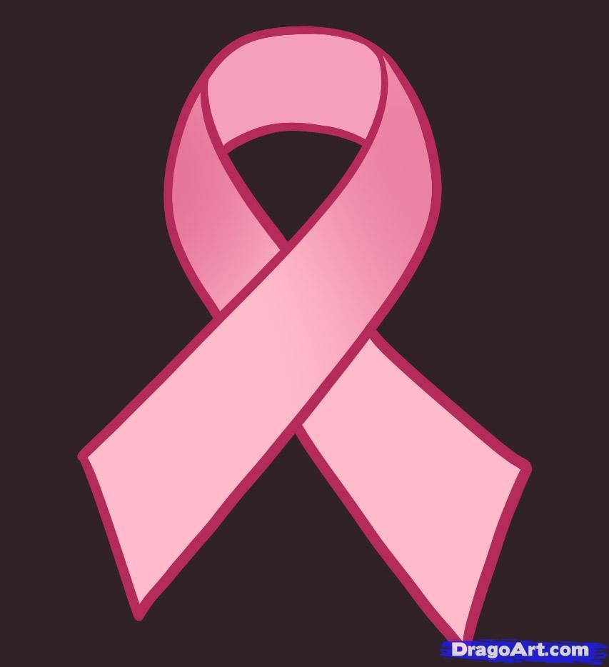 Drawn ribbon cancer Ribbon ribbon  ribbon by