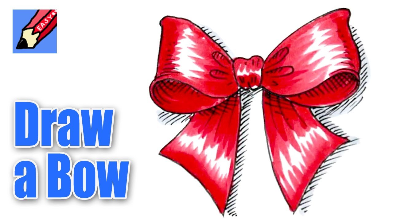 Drawn ribbon christmas To How YouTube a to