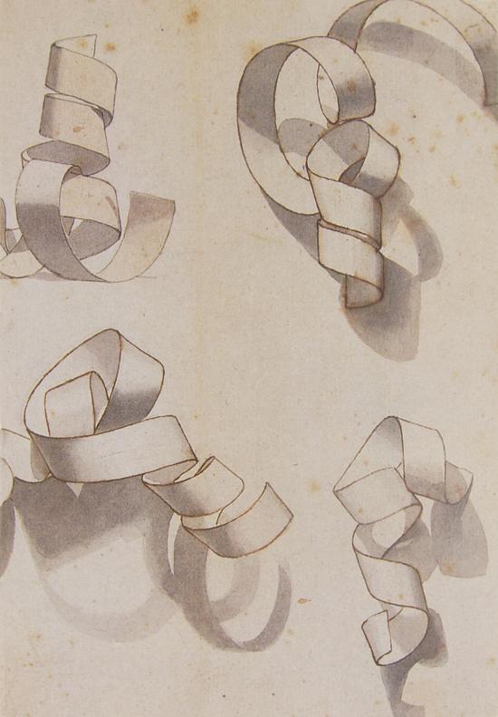 Drawn ribbon curl Activity Fun  than paper