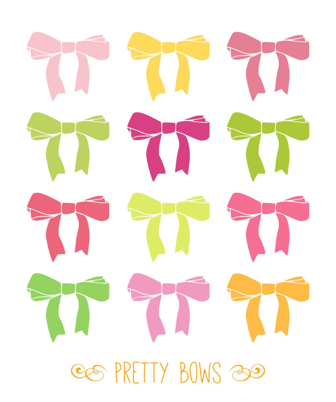 Drawn ribbon cute bow By Clip Art on Art