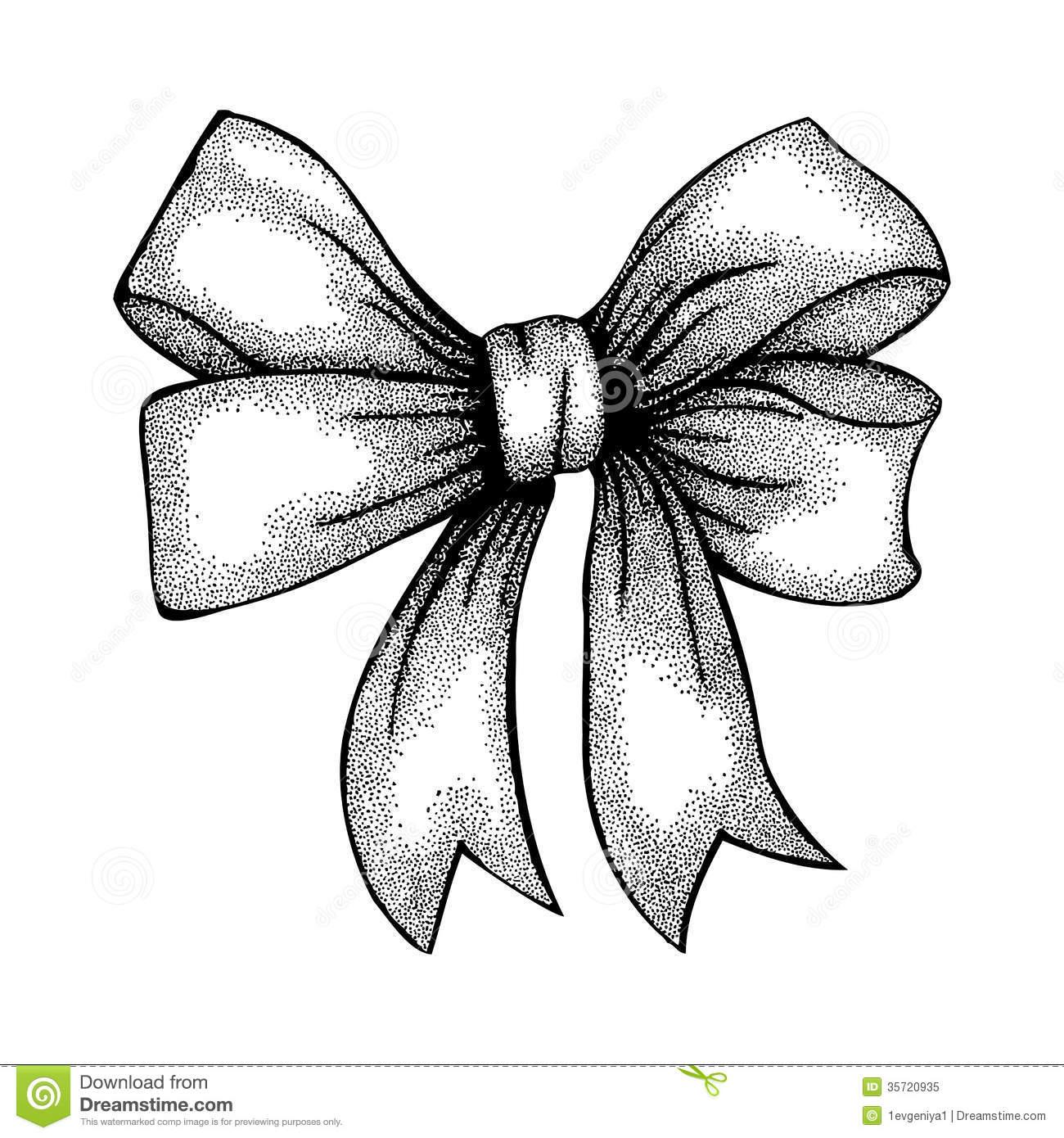 Drawn ribbon ribbon bow Ribbon Bow Drawing Beautiful drawing