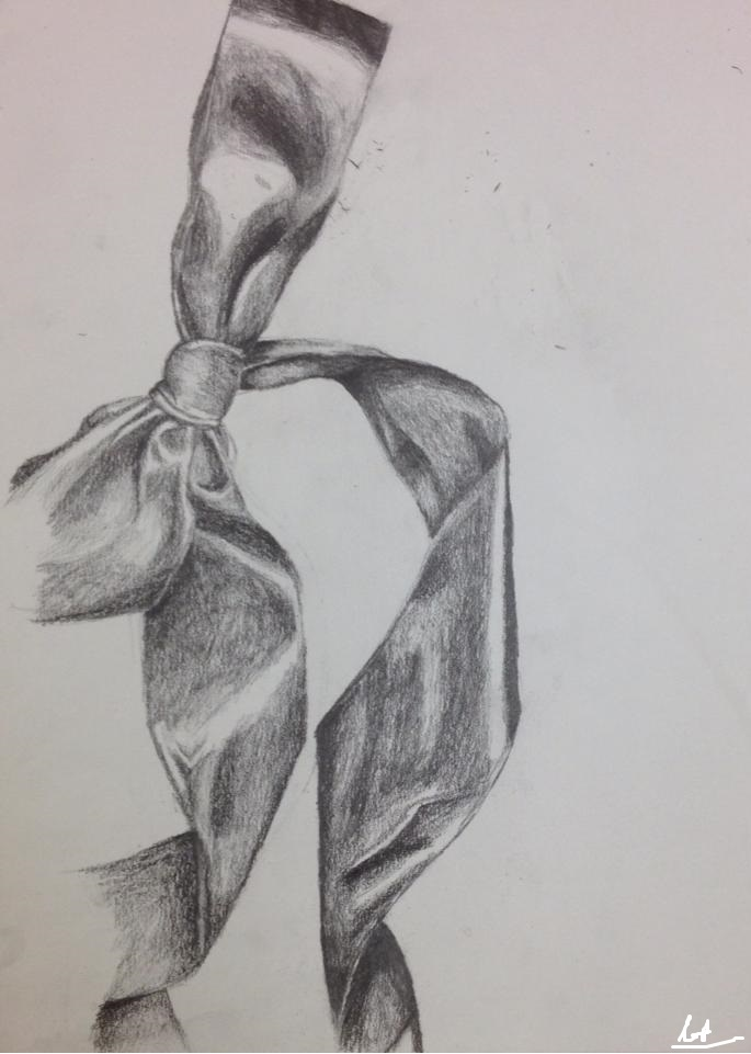 Drawn ribbon shaded Class Class by on Drawing