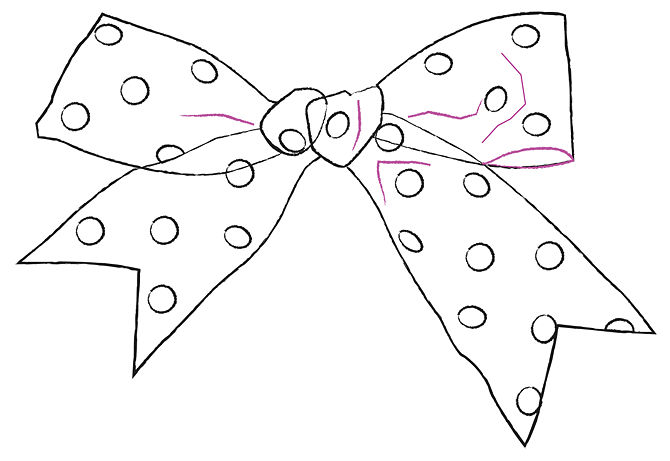 Drawn ribbon simple A Steps Clip 12 (with