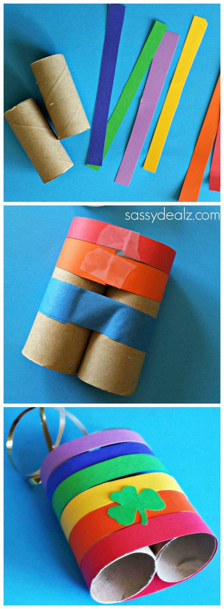 Drawn ribbon toilet roll # paper toilet crafts rolls!