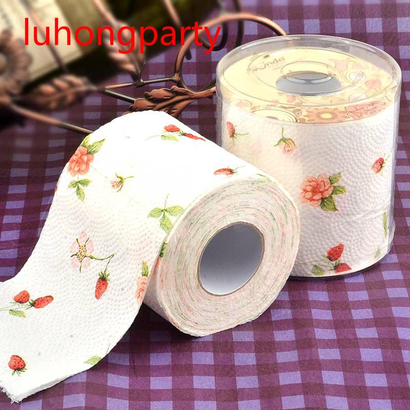Drawn ribbon toilet roll Novelty Toilet Toilet Paper Toilet