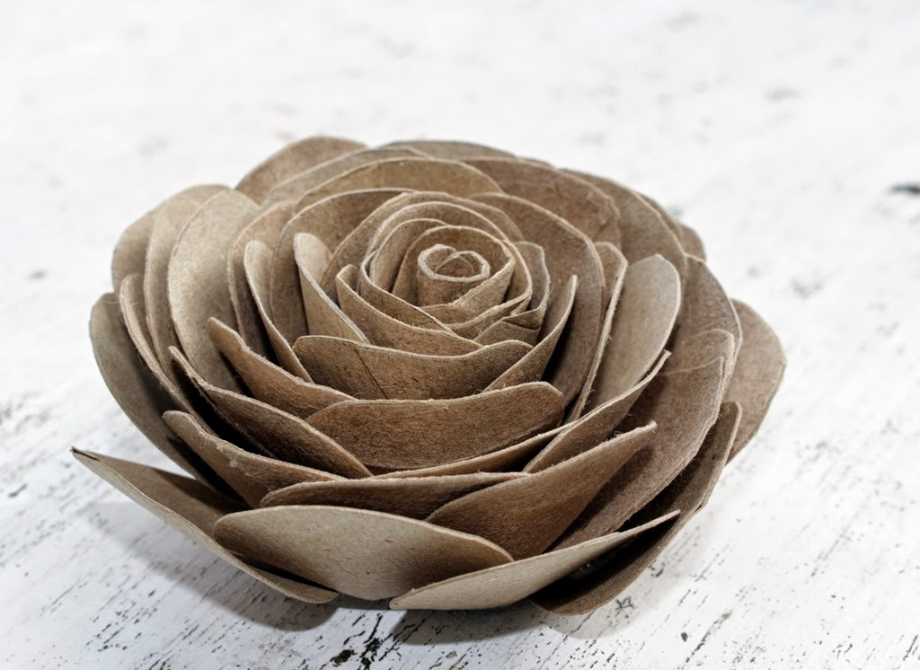 Drawn ribbon toilet roll How Roses Roses  Empty