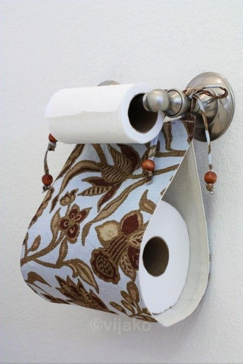 Drawn ribbon toilet roll Ideas: on store extra images