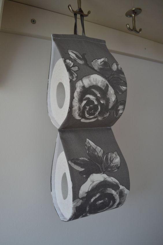 Drawn ribbon toilet roll Size rolls) holder x item
