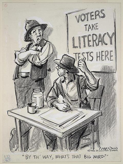 Drawn right civil Th' By 1965: Bill Mauldin