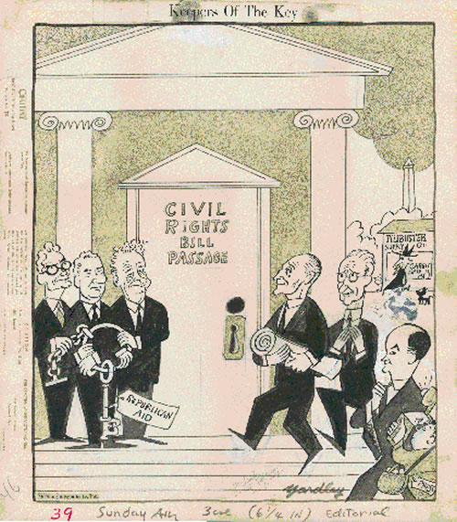 Drawn right civil Image: Larger Act of 1964