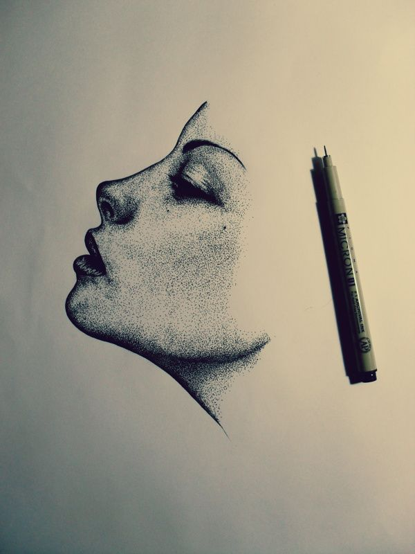 Drawn right side face Wind by to how Behance