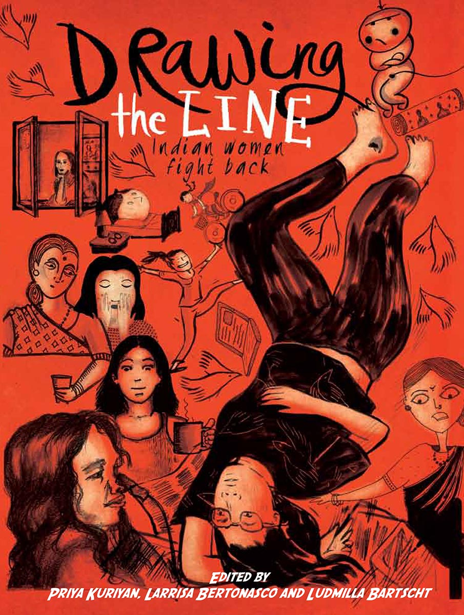 Drawn right woman in india Zubaan Indian the Line: Women