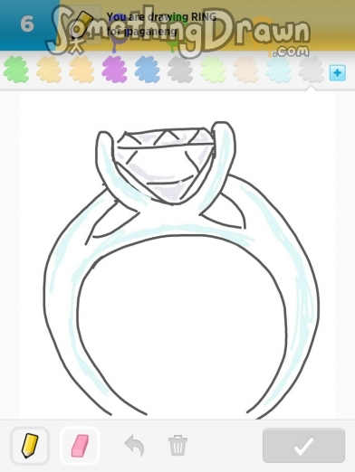 Drawn ring Something com by drawn ring
