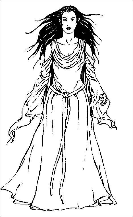 Hobbit clipart coloring page On pages images Pinterest Arwen
