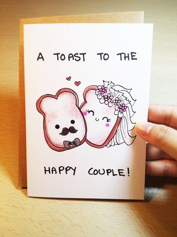 Drawn card wedding #4