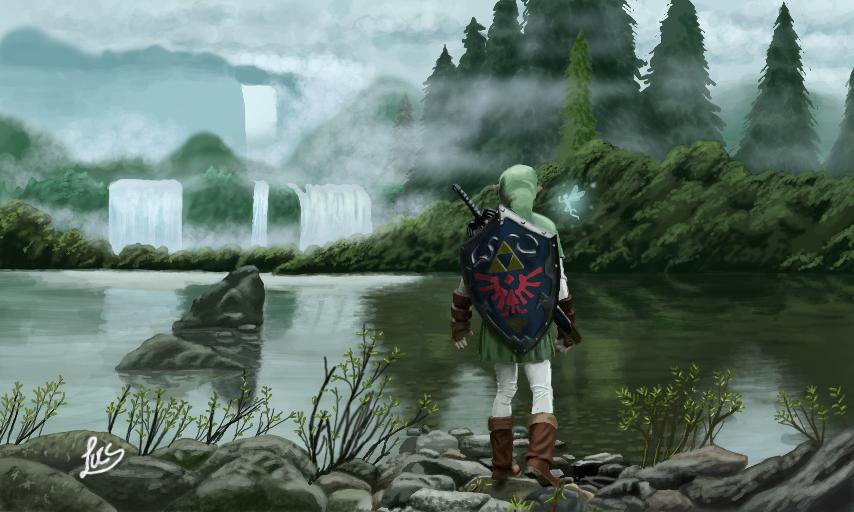 Drawn river 3d art 3DS Nintendo Imgur comments comments