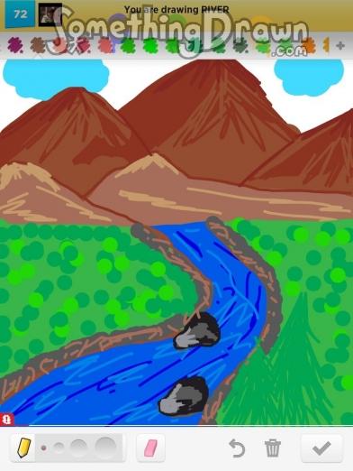 Drawn river SomethingDrawn RIVER Layla A Something
