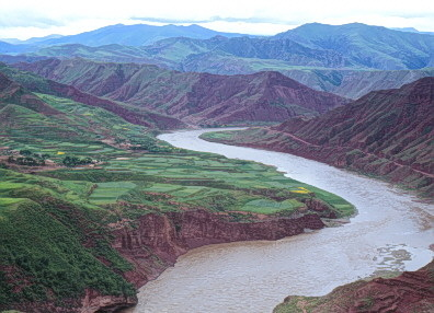 Drawn river agriculture Took valley Dynasty Yellow early