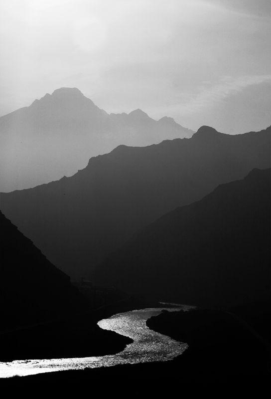 Drawn river black and white  Best white Black Pinterest